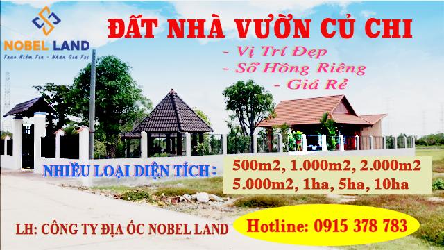 Bán Đất Huyện Củ Chi TP. Hồ Chí Minh, Sổ Hồng Riêng