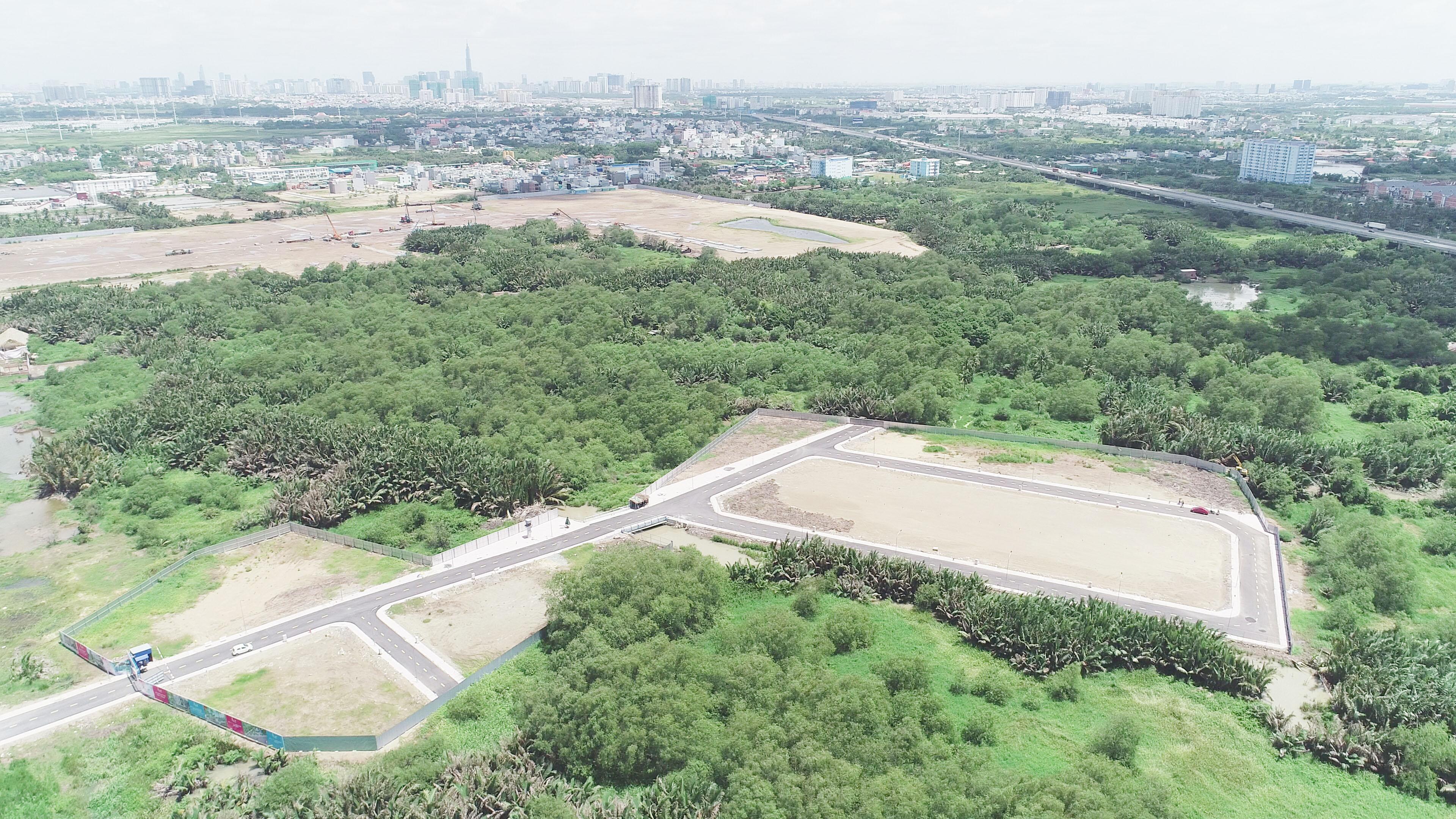 Đất Nền Sổ Đỏ Xây Dựng Tự Do Khu Dân Cư Phú Hữu Quận 9. Gía chỉ 24 triệu/m2