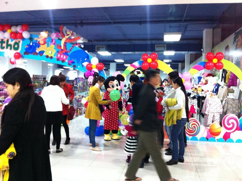 Cho thuê cửa hàng kinh doanh tại Trung tâm thương mại Mê Linh Plaza Hà Đông
